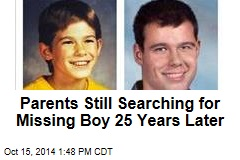 Parents Still Searching for Missing Boy 25 Years Later