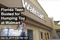 Florida Teen Busted for Humping Toy at Walmart