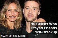 10 Celebs Who Stayed Friends Post-Breakup