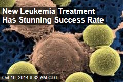 New Leukemia Treatment Has Stunning Success Rate