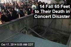 Concert Disaster: 15 Feared Dead After Falling Through Grate