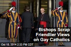 Bishops Scrap Friendlier Views on Gay Catholics