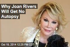 Joan Rivers' Daughter: I Want No Autopsy