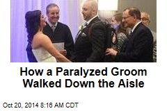 Paralyzed Groom Walks Aisle With Bionic Exoskeleton