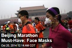 Beijing Marathon Must-Have: Face Masks