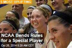 NCAA Bends Rules for a Special Player