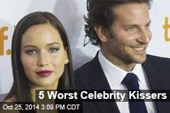 5 Worst Celebrity Kissers