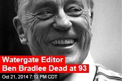 Editor Ben Bradlee Dead at 93