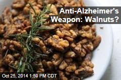 Anti-Alzheimer's Weapon: Walnuts?
