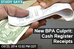 New BPA Culprit: Cash Register Receipts