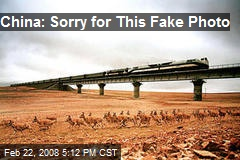 China: Sorry for This Fake Photo