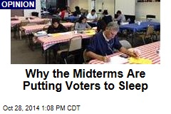 Why the Midterms Are Putting Voters to Sleep