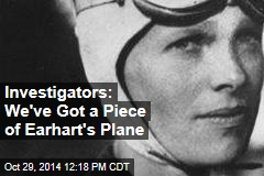 Investigators: We've Got a Piece of Earhart's Plane