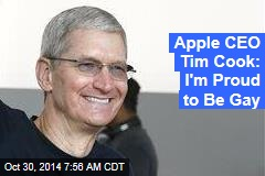 Apple CEO Tim Cook: I'm Gay