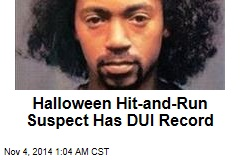Halloween Hit-and-Run Suspect Has DUI Record