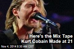 Here's the Mix Tape Kurt Cobain Made at 21