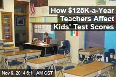 How $125K-a-Year Teachers Affect Kids' Test Scores
