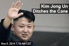 Kim Jong Un Ditches the Cane