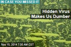 Hidden Virus Makes Us Dumber
