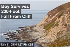 Boy Survives 230-Foot Fall From Cliff
