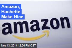 Amazon, Hachette Make Nice