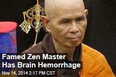 Famed Zen Master Has Brain Hemorrhage