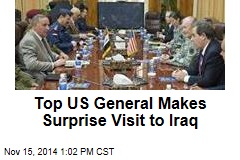 Top US General Makes Surprise Visit to Iraq