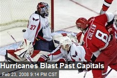 Hurricanes Blast Past Capitals