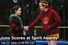 Juno Scores at Spirit Awards