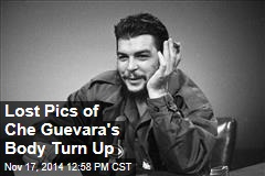 Lost Pics of Che Guevara's Body Turn Up