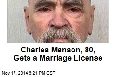 Charles Manson Gets a Wedding License
