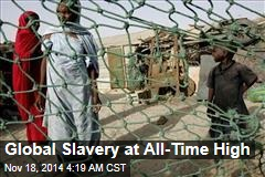 Global Slavery at All-Time High