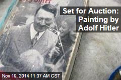 Set for Auction: Painting by Adolf Hitler