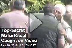 Top-Secret Mafia Ritual Caught on Video