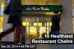 10 Healthiest Restaurant Chains