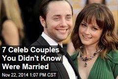 7 Celeb Couples You Didn't Know Were Married