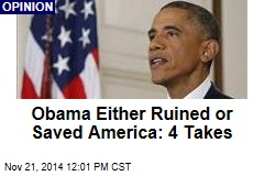 Obama Either Ruined or Saved America: 4 Takes