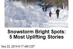 Snowstorm Bright Spots: 5 Most Uplifting Stories