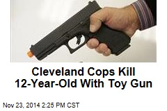 Cleveland Boy With Toy Gun Shot by Cop, Dies