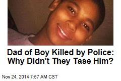 Cleveland Boy's Dad: Why Didn't Police Tase Him?