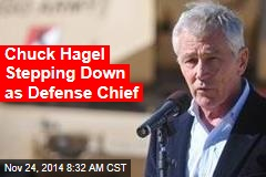 Chuck Hagel Stepping Down as Defense Chief