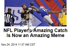 NFL Player's Amazing Catch Is Now an Amazing Meme