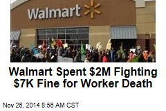 Walmart Hasn't Paid $7K Fine for 2008 Black Friday Death