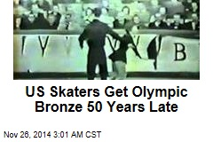US Skaters Get Olympic Bronze 50 Years Late