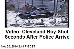 Video: Cleveland Boy Shot Seconds After Police Arrive