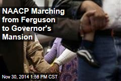 NAACP Marching from Ferguson to Governor's Mansion