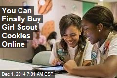 You Can Finally Buy Girl Scout Cookies Online