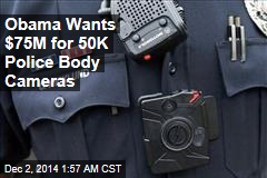 Obama: Feds to Fund Police Body Cameras
