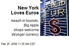 New York Loves Euros