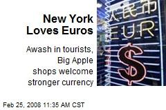 New York Loves Euros